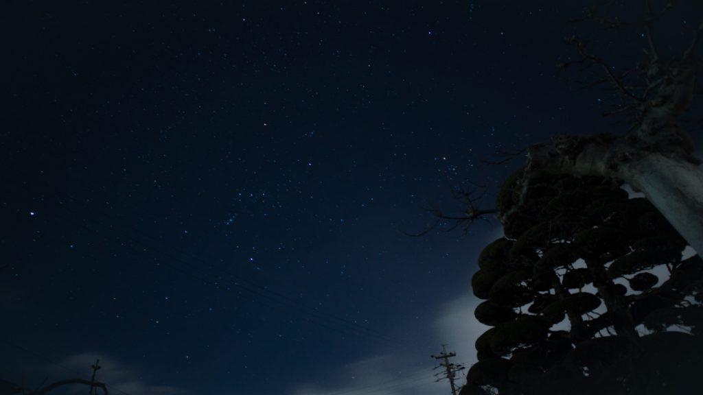 長野の星空